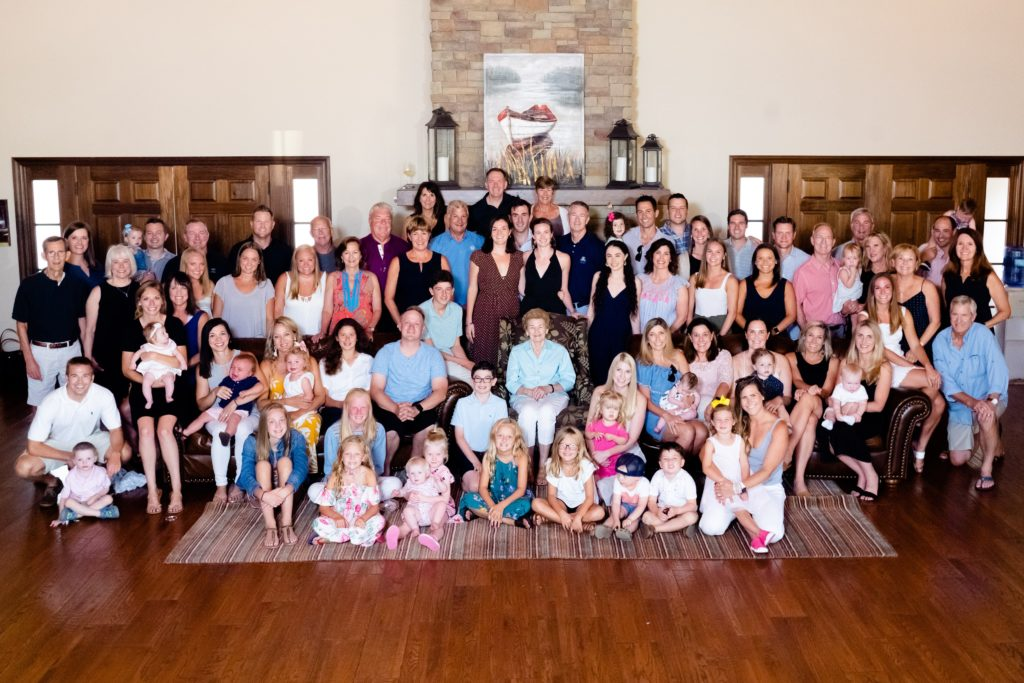 The Tracy Family at their 2019 Ozarks retreat.