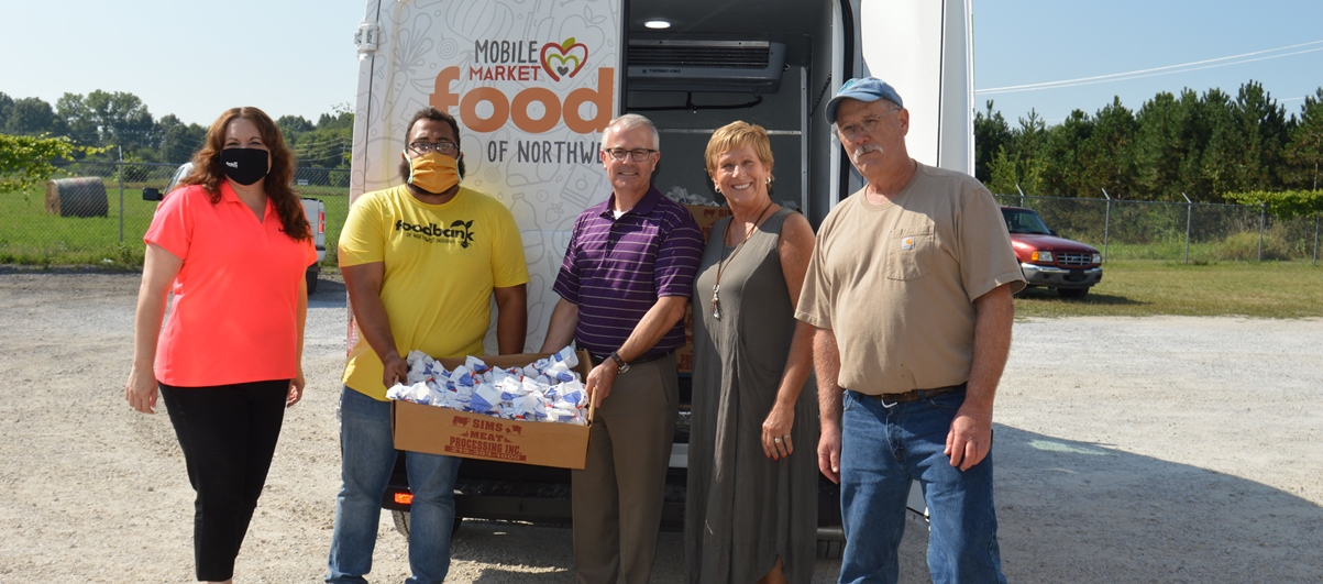 The Porter County Community Foundation, in collaboration with Porter County 4-H, Hoosiers Feeding the Hungry and Sims Meat Processing, donated 1,500 lbs. of meat to the Food Bank of Northwest Indiana which was distributed to local food pantries.